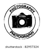 photo camera stamp | Shutterstock .eps vector #82957324