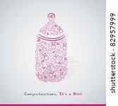 baby card | Shutterstock .eps vector #82957999
