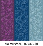 seamless floral pattern. vector ...