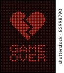broken heart  divorce   break up | Shutterstock .eps vector #82998790