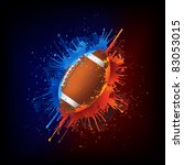 football ball | Shutterstock .eps vector #83053015