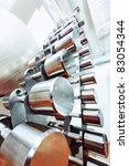 shot of a weight training... | Shutterstock . vector #83054344