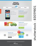 panixxo series   editable web... | Shutterstock .eps vector #83059801