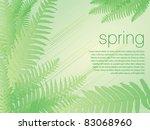 spring background vector...   Shutterstock .eps vector #83068960