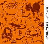 halloween pattern | Shutterstock .eps vector #83149807