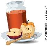 a vector illustration of a... | Shutterstock .eps vector #83161774