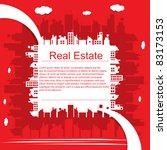 real estate | Shutterstock .eps vector #83173153