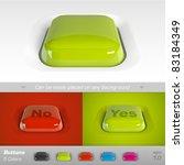 buttons. vector illustration | Shutterstock .eps vector #83184349