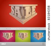 sale. vector illustration | Shutterstock .eps vector #83184358