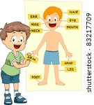 illustration of a kid... | Shutterstock .eps vector #83217709