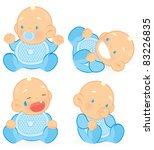 baby | Shutterstock .eps vector #83226835