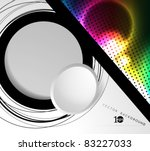 colorful vector background | Shutterstock .eps vector #83227033
