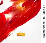 eps10 vector flower background | Shutterstock .eps vector #83236657