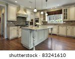 kitchen in luxury home with... | Shutterstock . vector #83241610