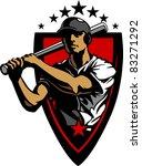 Baseball Player Batting Design...
