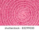Circular Background From Pink...