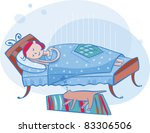 picture for women  kids ... | Shutterstock .eps vector #83306506