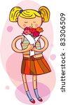 picture for women  kids ... | Shutterstock .eps vector #83306509