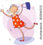 picture for women  kids ... | Shutterstock .eps vector #83306515
