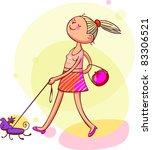 picture for women  kids ... | Shutterstock .eps vector #83306521