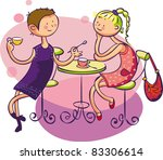 picture for women  kids ... | Shutterstock .eps vector #83306614