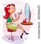 picture for women  kids ... | Shutterstock .eps vector #83306620