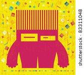 monster | Shutterstock .eps vector #83311048