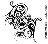 tribal tattoo | Shutterstock .eps vector #83320900