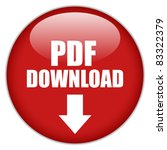 vector pdf download button ...