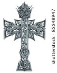eps 10  creative cross  design...   Shutterstock .eps vector #83348947