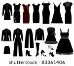 cloths | Shutterstock .eps vector #83361406