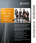 orange and black template for...   Shutterstock .eps vector #83381068