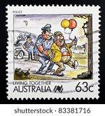 australia   circa 1988  a 63...   Shutterstock . vector #83381716