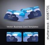 business card | Shutterstock .eps vector #83387731