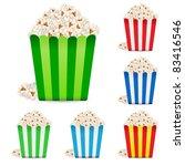 raster version. popcorn in...   Shutterstock . vector #83416546