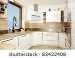 light color kitchen | Shutterstock . vector #83422408