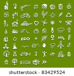 ecology icons for your design | Shutterstock .eps vector #83429524