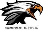 mascot head of an eagle   Shutterstock .eps vector #83449846