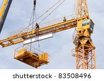 Setting Up A Tower Crane In The ...
