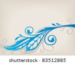 vector background with image of ... | Shutterstock .eps vector #83512885