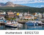 ������, ������: Ushuaia Harbor Tierra del