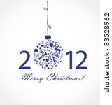 christmas card | Shutterstock .eps vector #83528962