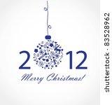 christmas card | Shutterstock .eps vector #83528962