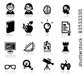 icons set nerds | Shutterstock .eps vector #83533330
