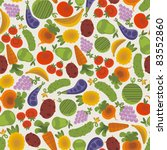seamless pattern with fruits... | Shutterstock .eps vector #83552860