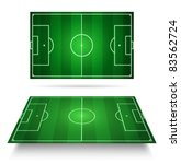 soccer field   vector | Shutterstock .eps vector #83562724