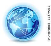 global communication concept | Shutterstock .eps vector #83579083