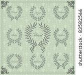 vintage floral frames and... | Shutterstock .eps vector #83582566