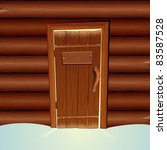 Santa Claus Wooden Hut With...
