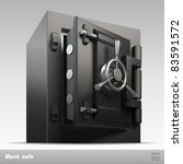 bank safe. vector illustration | Shutterstock .eps vector #83591572